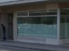 Petite façade avec entrée au boulevard de la Cluse 55